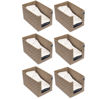 Picture of HomeStrap Printed Shirt Stacker/Organizer - Beige Pack of 6